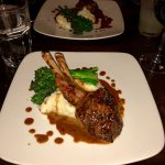 The amazing rack of lamb special!