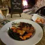 Saturday evening roaring fire amazing food and brilliant pub. What more could you want oh and wi