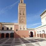 This mosque is a good landmark for finding the riad
