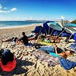 November beach camp at Supertubos