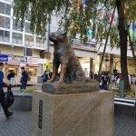 The statue