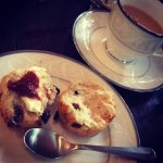 These hot scones were to die for... Fabulous afternoon tea service!!