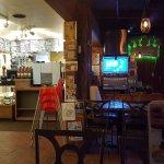 Inside of Golden Crown Panaderia Restaurant