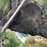 Bridge itself smaller than appears