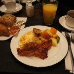 Breakfast buffet was great.