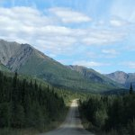 Drive to the Tomstone Territorial Park