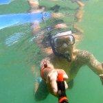 Snorkeling in the Hanalei Bay