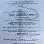 Menu options, Pacific Prime Restaurant & Lounge, 181 Beachside Drive | Parksville, BC