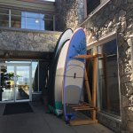 Paddle boards for hotel, Pacific Prime Restaurant & Lounge, 181 Beachside Drive | Parksville, BC