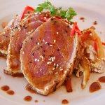 Marintated & Grilled Tuna Steak