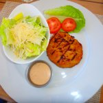 Conch & Croc burger