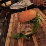 Smoked Trout Slider