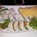 California, Crunchy California & Tempura Yam rolls