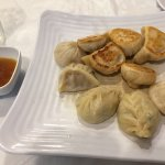 Assorted Pork, chicken, & vegetable steamed & fried. I liked the steamed vegetable dumplings the