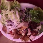 Et Tu Brutus Salad with Tofu Added