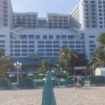 Margaritaville Resort from the beach
