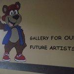 Kids gallery area, Three Bears Resort change location 701 Yogi Cir, Warrens, WI