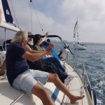 "sailing on the ""Tamara"""