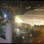 Roman Amphitheatre - view from rooftop of Amman Pasha Hotel