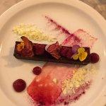 Chocolate/beetroot pudding
