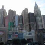Exterior of NYNY Las Vegas