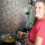 Cooking school at gecko in Meaungngoi neau