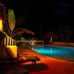 Pool at night !