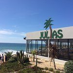 Julia's restaurant & beach bar- The original since 1973