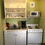 Efficiency's kitchen area