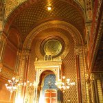 Inside the Spanish Synagogue