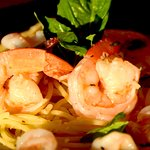 Sami's mouth-watering Shrimp Scampi is loaded with jumbo shrimp sauteed in lemon butter & white