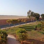 Zaun und Wüste