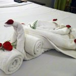 Here's how to present the guest towels