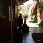 By reception area Hotel Majoro Nzca