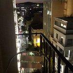 8 floor balconies