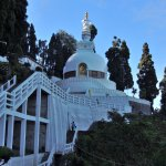 Peace Pagoda at Darjeeling