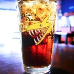 Enjoy cold drinks at Slim's Place.