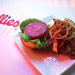 The Slim burger at AMI's #1 Sports Bar!