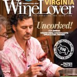 Chef on cover of wine lover magazine