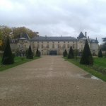 Chateau in Malmaison - front view.