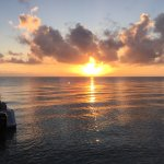 Sunrise on dive day #1