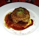 Foie gras poêlé Le Foie Gras Poêlé : En escalope à la pomme verte, façon Socca