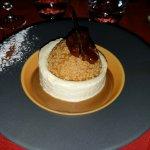 Délicieux dessert praliné , tonka
