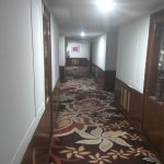 Carpeted corridors
