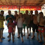 Muay Thai team september 2017