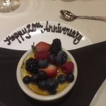 creme brulee with a message!