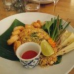 Posh Pad Thai at Ihsiri in Lund