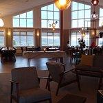 Salon et restaurant de l'hôtel