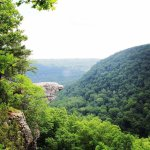 Whitaker Point aka Hawksbill Crag  in May 2017
