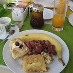 lovely breakfast to start the day !
